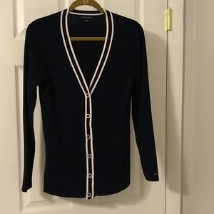 Tommy Hilfiger cardigan size M Navy blue